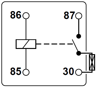 Wiring Diagram 86 87 85 30 Relay additionally Saturn Horn Relay Wiring Diagram in addition 12v 14 Pin Relay Wiring Diagram together with Wired 03 01 moreover Showthread. on 87a relay wiring diagram