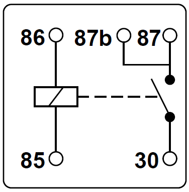 Relay Guide on 5 pin relay diagram