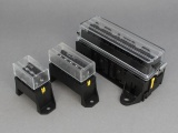 Standard Blade Fuseboxes (Underside / Rear  Entry Terminals)