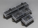 Standard Blade Fuseboxes (Side Entry Terminals)