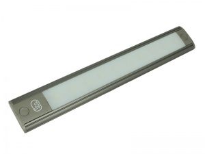12V LED Interior Strip Light With Touch On/Off Switch - Graphite Grey