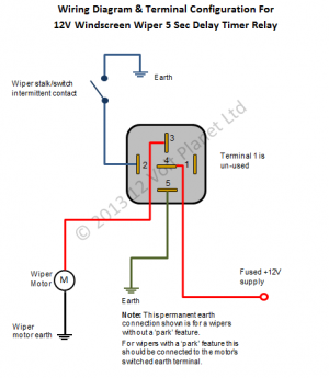 Second Intermittent Wiper Delay Timer Relay B D on Tv Schematic Circuit Diagram