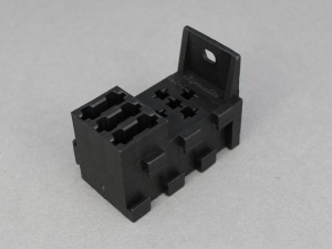 Combined Standard (Mini) Relay Socket & Blade Fuse Holder - 4 & 5 Terminal Relays
