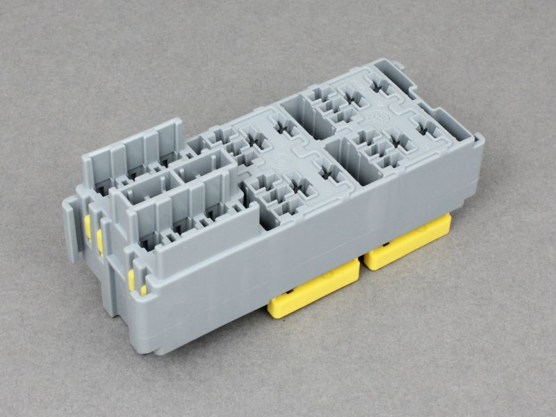 Modular Fuse Relay Box : Module for micro relays mini blade fuses volt