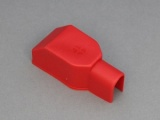 Battery Terminal Cover - Straight Entry  (For Use With Stud Terminals) - Positive (Red)
