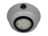 Comet 12V LED Downlight - Plastic With Matt Silver Finish