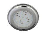 Nova 12V LED Switched Downlight - Plastic With Chrome Finish