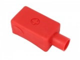 Extra Long Battery Terminal Cover - Straight Entry - Positive (Red)