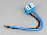 Ceramic H7 Bulb Connector - Side Exit Cables
