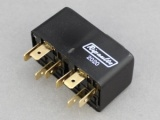 Standard (Mini) Twin Make & Break Relay - NO Contacts, 2x 12V 30A
