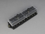Standard Blade Fuse Box (Side Terminals) - 10 Way