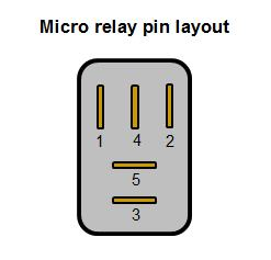 automotive relay guide 12 volt planet 4 pole relay wiring terminal pin number and size