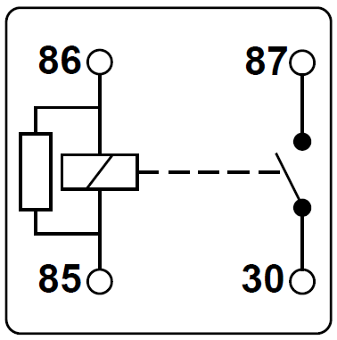 5 Pin Relay Wiring Diagram 87A from www.12voltplanet.co.uk
