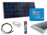 Roof-Mounted Solar Panel Kits