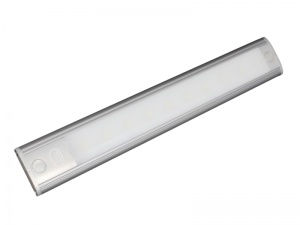 12V LED Interior Strip Light With Touch On/Off Switch - Silver