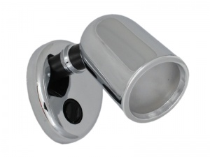 Tube 12V LED Spot Light - Plastic With Chrome Finish