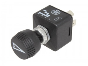 Rotary Switch, 4 Position - 12/24 V