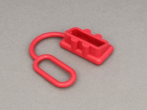 Red Rubber External Protective Cover For SB50 Power Connector