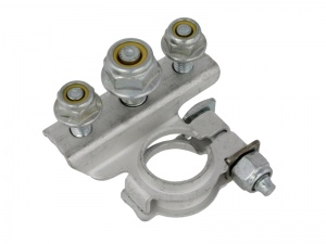 Positive Battery Terminal Clamp - 3 Stud Connection