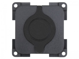 CBE 12V  (Auto) Socket With Waterproof Cover - Grey