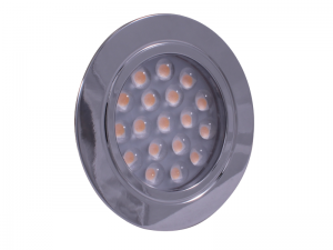 Dimatec Recessed LED 'Touch' Downlight - Chrome (Warm White)
