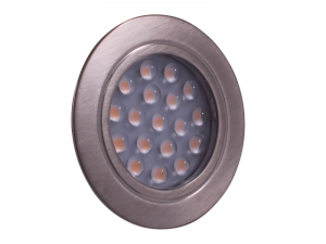 Dimatec Recessed LED 'Touch' Downlight - Nickel (Warm White)
