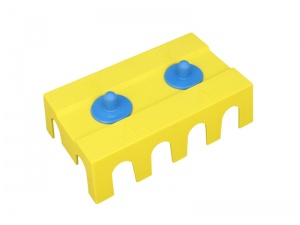 Cover For VTE Dual 4 Point Power Distribution Block/Busbar