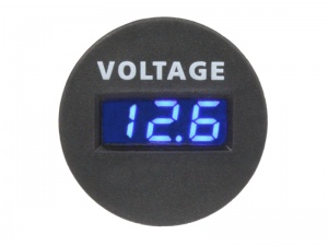 Panel Mount Digital Volt Meter 12V & 24V DC