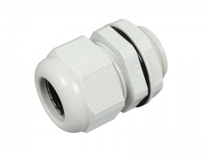 Plastic Cable Gland For 11 - 15mm Dia. Cable