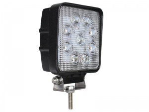Slimline High Power Square LED Work Lamp - 1700 Lumens