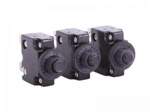 Push Button Thermal Trip Circuit Breakers