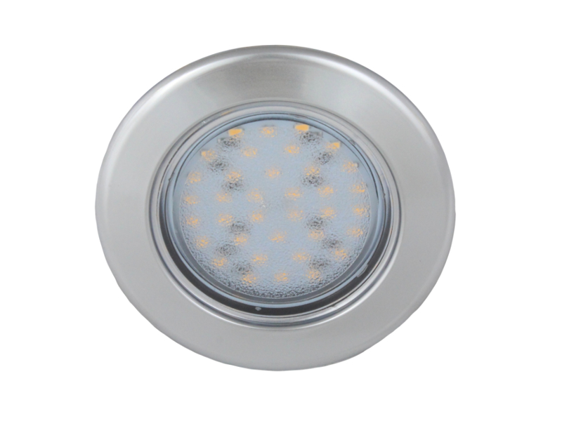 Vega 75 Recessed 12v Led Downlight Matt Chrome 12 Volt