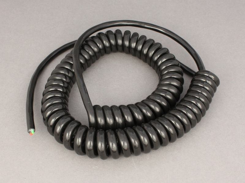 3 Core Retractable Coiled Cable 1 0mm 178 12 Volt Planet