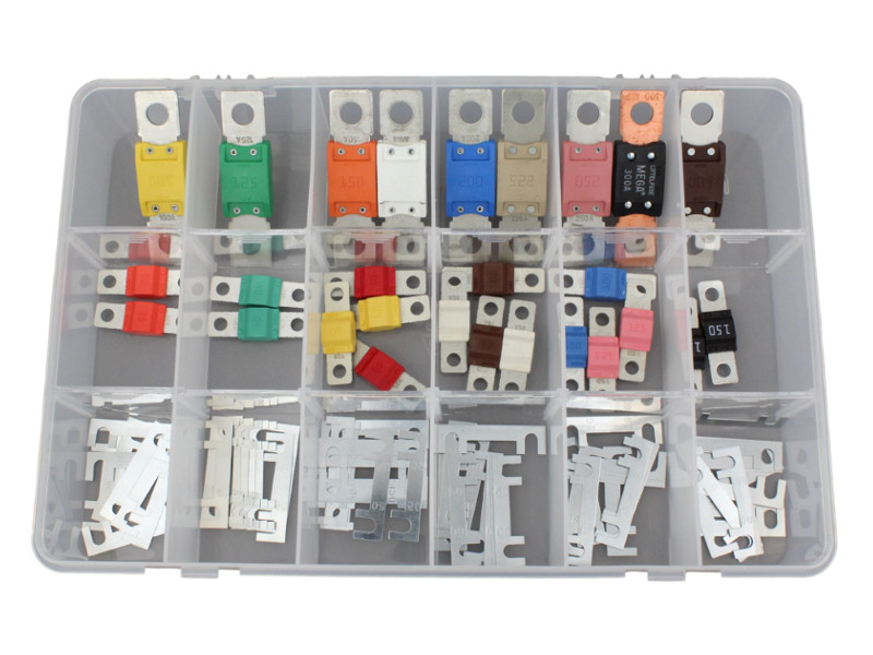 87 Piece Strip Midi Amp Mega Link Fuse Kit 12 Volt Planet