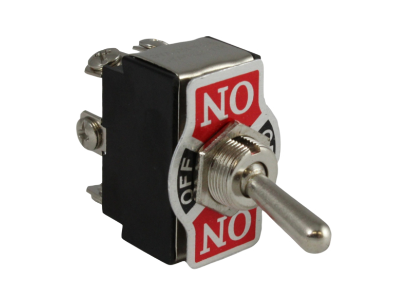 12v 20a 2 Way Toggle Switch With On  Off  On Decal
