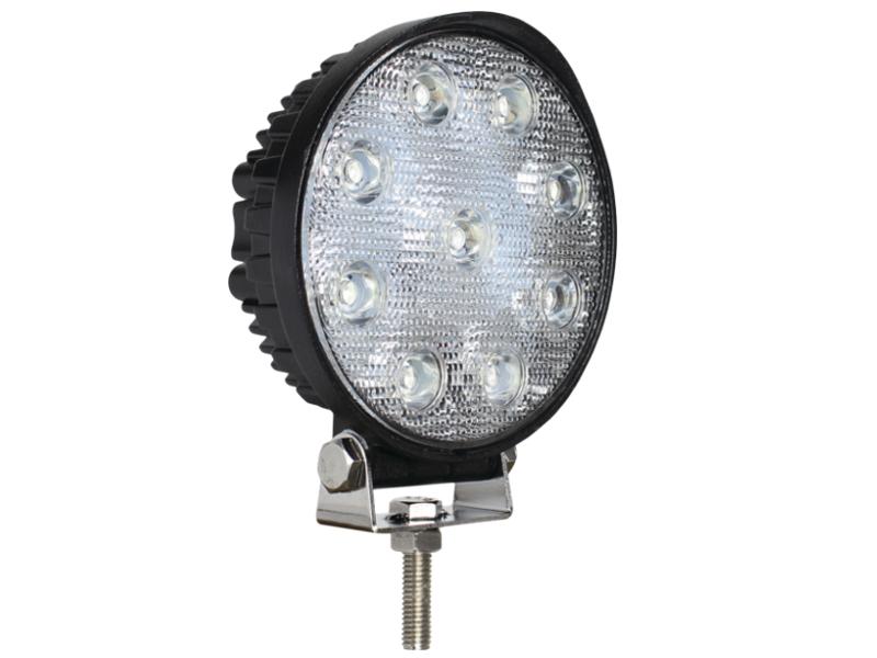 Battery Terminal Covers >> Slimline High Power Round LED Work Lamp 10-30V   12 Volt ...