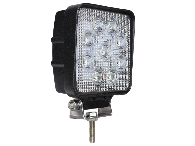 Slimline High Power Square Led Work Lamp 10 30v 12 Volt