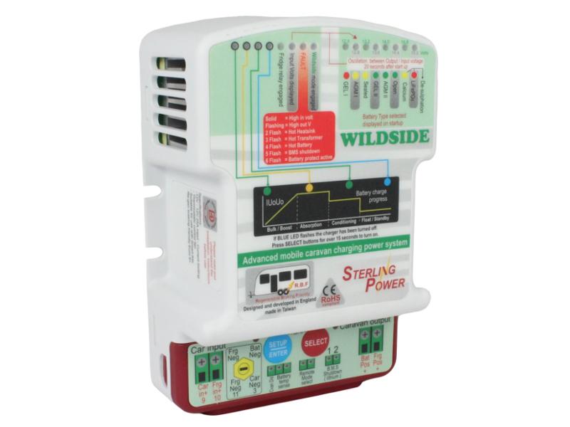 sterling wildside caravan b2b charger 12 12v 12 volt planet