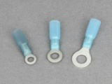 Heat Shrink Ring Terminals - 1.5 - 2.5mm² Cable (Blue)