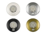 12v / 24v LED Round Interior Downlight With Illuminated On/Off Switch