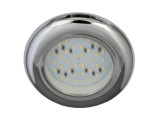 Nova 12V LED  Downlight - Plastic With Chrome Finish