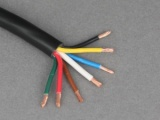 7 Core Thin Wall Trailer Cable - 6 x 16.5A (1.0mm²), 1 x 25A (2.0mm²)