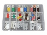 87 Piece Strip, Midi & Mega Link Fuse Assortment Kit