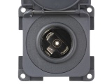 CBE 12V  (Auto) Socket With Cover - Grey
