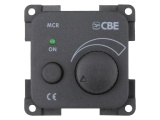 CBE 12V Electronic Dimmer With LED - Grey