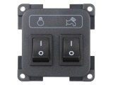 CBE Pump + Light Switch - Grey