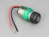 12V Cigar Lighter With Green Illumination