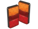 Compact Stop Tail Indicator Reflector Light - Twin Pack (150 Series)