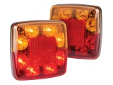 Compact Stop Tail Indicator Reflector Light - Twin Pack (98 Series)
