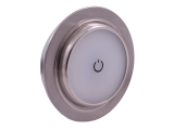 Dimatec Adjustable LED 'Touch' Downlight - Nickel (Warm White)